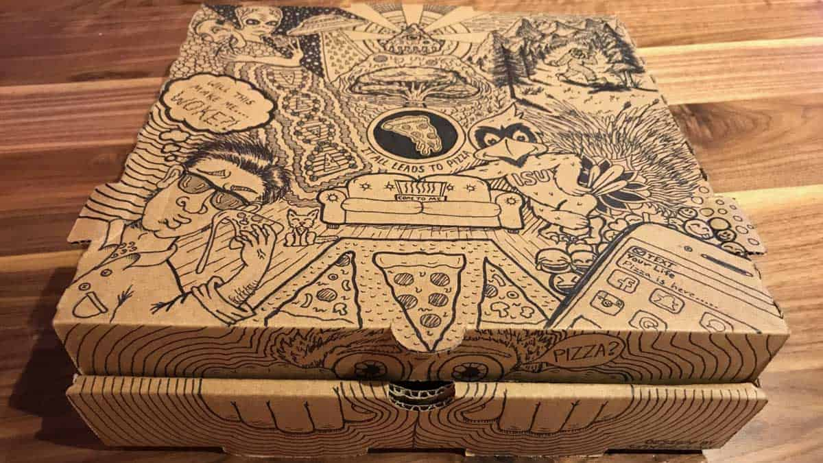 Our Annual Pizza Box Art Contest Has Rocked!