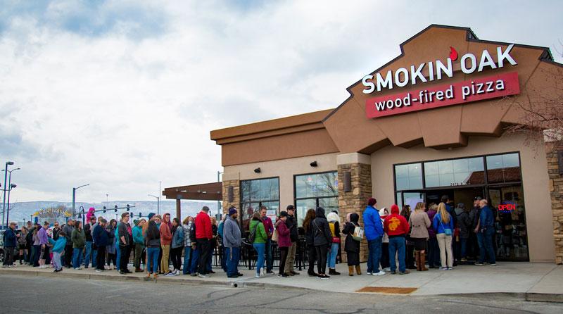Take a Tour of Smokin' Oak Wood-Fired Pizza!