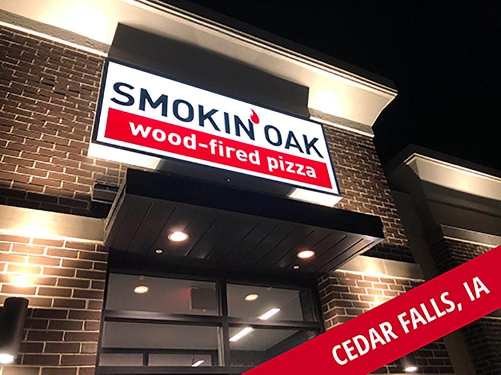 Smokin' Oak Wood-Fired Pizza Now Open in Broomfield, CO and Cedar Falls, IA