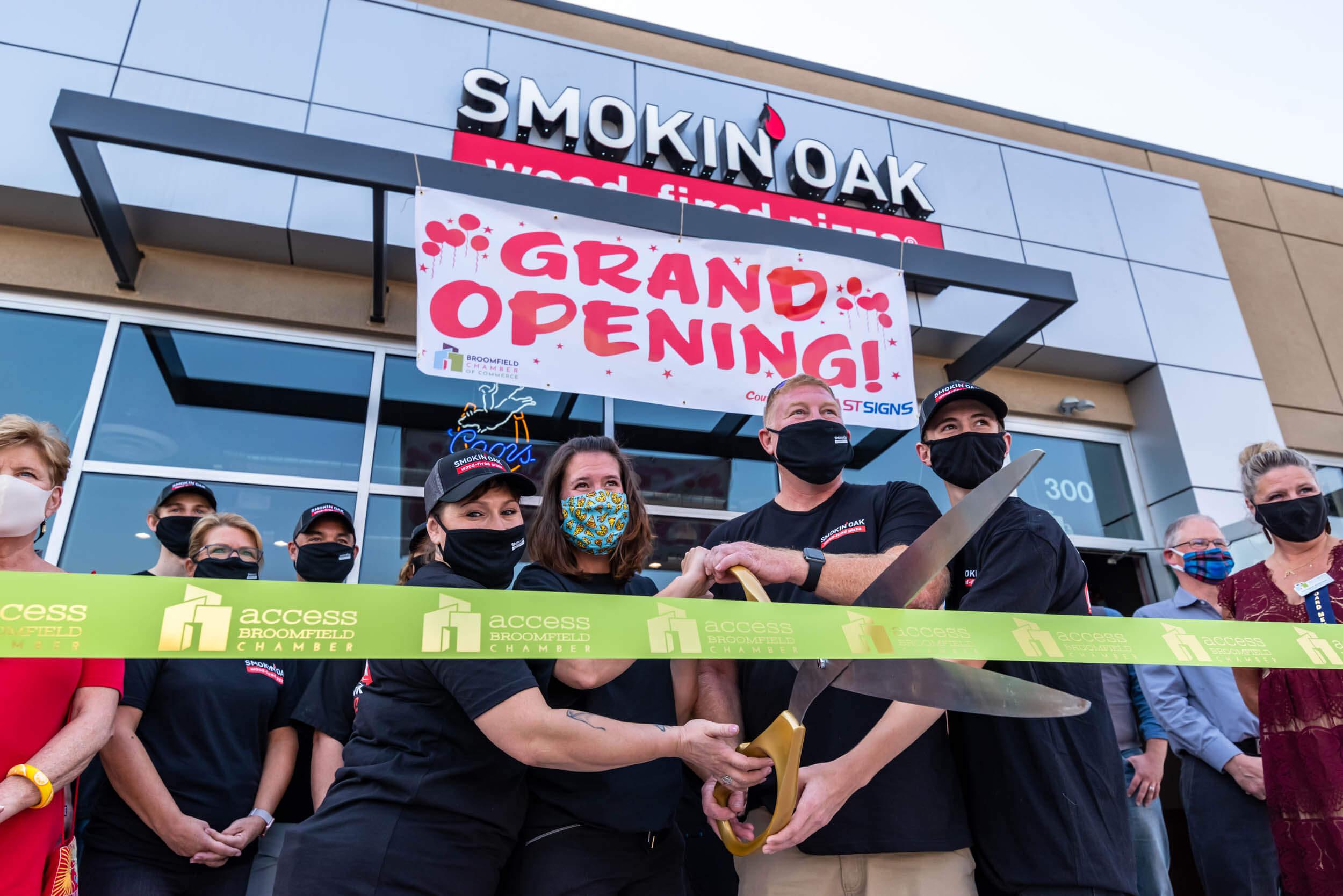 Broomfield, Colorado Now Home to Smokin' Oak Wood-Fired Pizza!