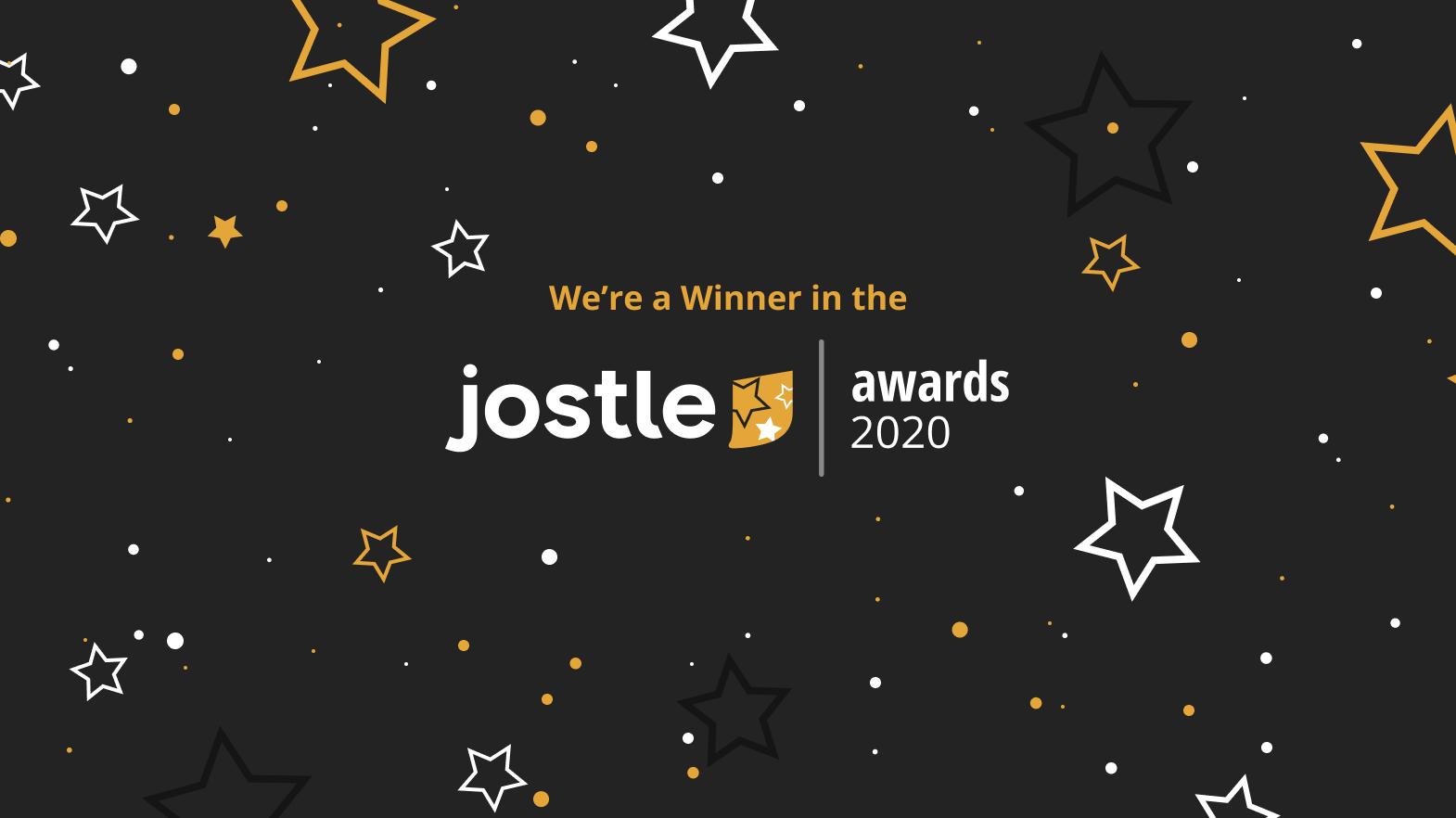 We're Intranet Superstars!  Smokin' Oak Wood-Fired Pizza Wins 2020 Jostle Award!